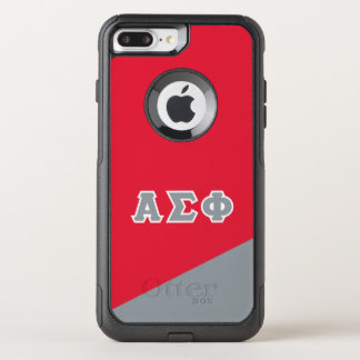 Alpha Sigma Phi | Greek Letters OtterBox Commuter iPhone 8 Plus/7 Plus Case