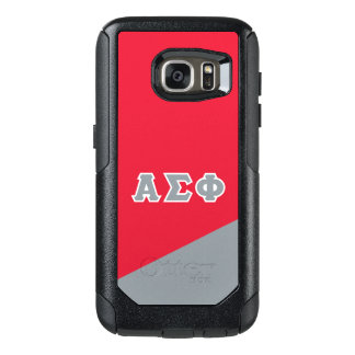 Alpha Sigma Phi | Greek Letters OtterBox Samsung Galaxy S7 Case