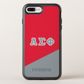 Alpha Sigma Phi | Greek Letters OtterBox Symmetry iPhone 8 Plus/7 Plus Case