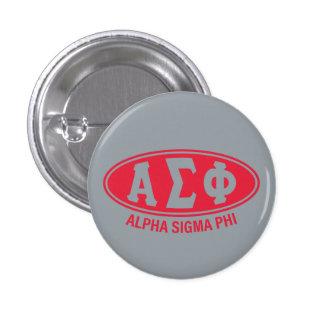 Alpha Sigma Phi | Vintage 3 Cm Round Badge