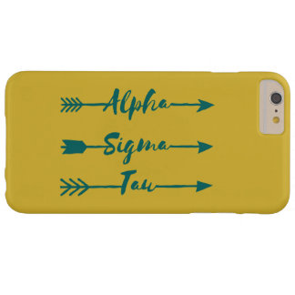 Alpha Sigma Tau Arrow Barely There iPhone 6 Plus Case
