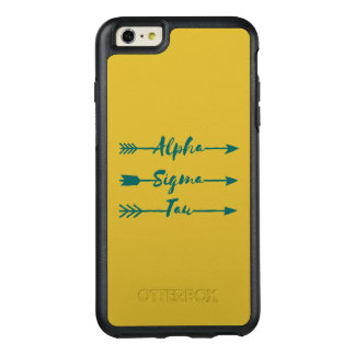 Alpha Sigma Tau Arrow OtterBox iPhone 6/6s Plus Case
