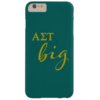 Alpha Sigma Tau Big Script Barely There iPhone 6 Plus Case