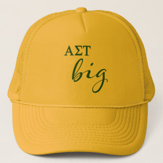 Alpha Sigma Tau Big Script Trucker Hat