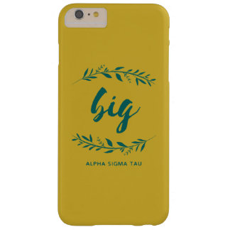 Alpha Sigma Tau Big Wreath Barely There iPhone 6 Plus Case