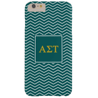 Alpha Sigma Tau | Chevron Pattern Barely There iPhone 6 Plus Case