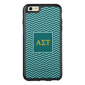 Alpha Sigma Tau | Chevron Pattern OtterBox iPhone 6/6s Plus Case