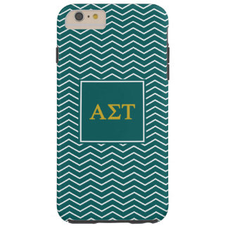 Alpha Sigma Tau | Chevron Pattern Tough iPhone 6 Plus Case