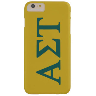 Alpha Sigma Tau Lil Big Logo Barely There iPhone 6 Plus Case