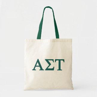 Alpha Sigma Tau Lil Big Logo Tote Bag