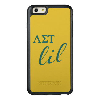 Alpha Sigma Tau Lil Script OtterBox iPhone 6/6s Plus Case