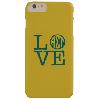 Alpha Sigma Tau Love Barely There iPhone 6 Plus Case