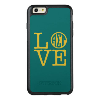 Alpha Sigma Tau Love OtterBox iPhone 6/6s Plus Case