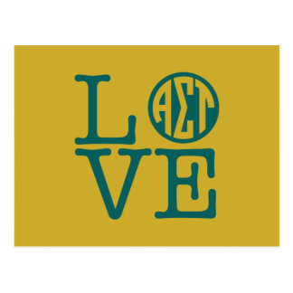 Alpha Sigma Tau Love Postcard