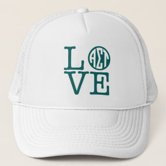 Alpha Sigma Tau Love Trucker Hat