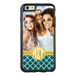 Alpha Sigma Tau | Monogram and Photo OtterBox iPhone 6/6s Plus Case