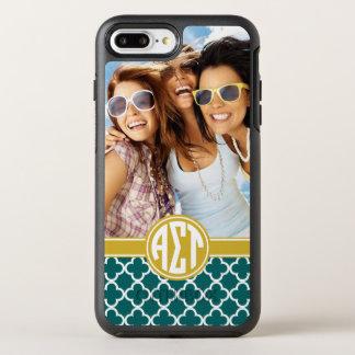 Alpha Sigma Tau   Monogram and Photo OtterBox Symmetry iPhone 8 Plus/7 Plus Case