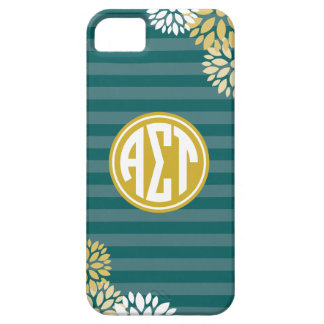 Alpha Sigma Tau | Monogram Stripe Pattern Case For The iPhone 5