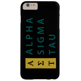 Alpha Sigma Tau Stacked Barely There iPhone 6 Plus Case