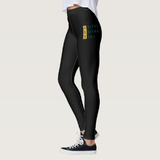Alpha Sigma Tau Stacked Leggings