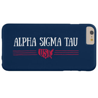 Alpha Sigma Tau USA Barely There iPhone 6 Plus Case