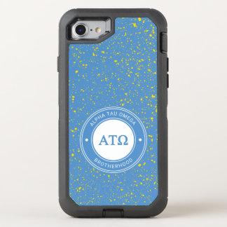 Alpha Tau Omega   Badge OtterBox Defender iPhone 8/7 Case