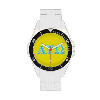 Alpha Tau Omega Blue Letters Watch