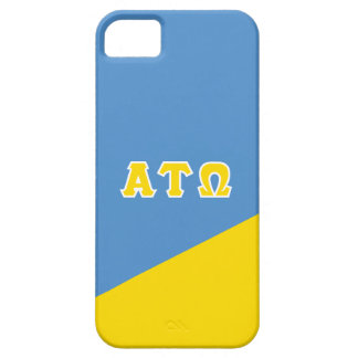 Alpha Tau Omega | Greek Letters Barely There iPhone 5 Case