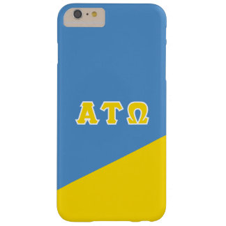 Alpha Tau Omega | Greek Letters Barely There iPhone 6 Plus Case