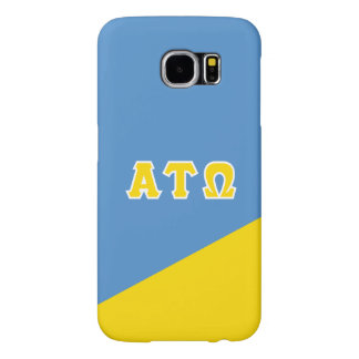 Alpha Tau Omega | Greek Letters Samsung Galaxy S6 Cases