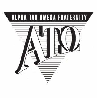 Alpha Tau Omega Name and Letters Photo Cutouts