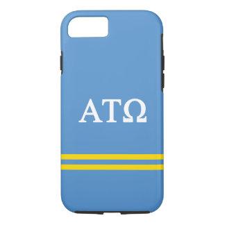 Alpha Tau Omega | Sport Stripe iPhone 8/7 Case