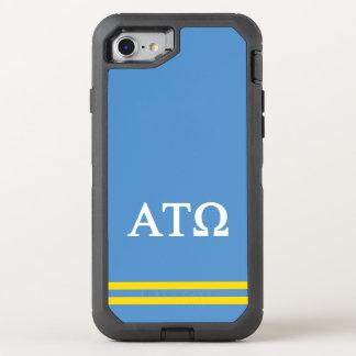 Alpha Tau Omega | Sport Stripe OtterBox Defender iPhone 8/7 Case