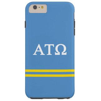 Alpha Tau Omega | Sport Stripe Tough iPhone 6 Plus Case