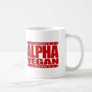 ALPHA VEGAN - Fruit You! All Veggie Haters, Red Coffee Mug