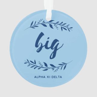 Alpha Xi Delta Big Wreath Ornament