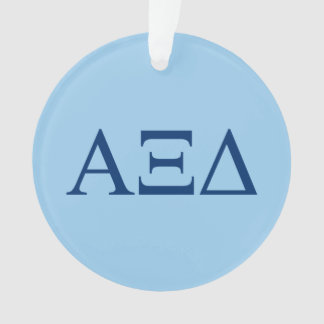 Alpha Xi Delta Lil Big Logo Ornament
