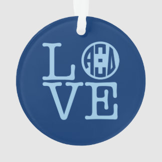 Alpha Xi Delta Love Ornament