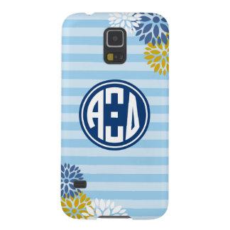 Alpha Xi Delta   Monogram Stripe Pattern Case For Galaxy S5
