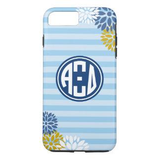 Alpha Xi Delta   Monogram Stripe Pattern iPhone 7 Plus Case