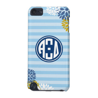 Alpha Xi Delta   Monogram Stripe Pattern iPod Touch 5G Covers
