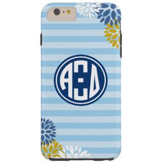 Alpha Xi Delta | Monogram Stripe Pattern Tough iPhone 6 Plus Case
