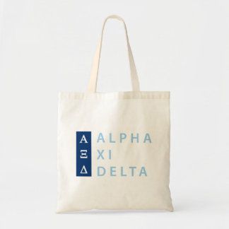 Alpha Xi Delta Stacked Tote Bag