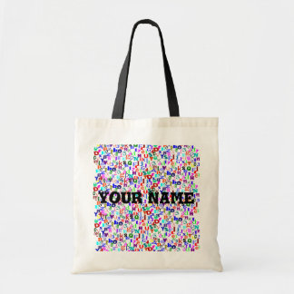 Alphabet and Numbers Bag