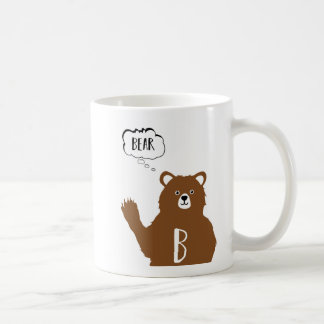 Alphabet Animals - B Is For Bear Coffee Mug