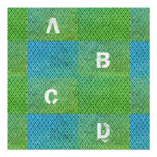 Alphabet Baby Poster