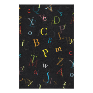 ALPHABET  BACKGROUND WALLPAPERS CUSTOMIZABLE TEMPL CUSTOMIZED STATIONERY