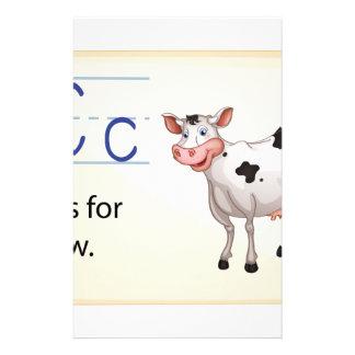 Alphabet C Stationery
