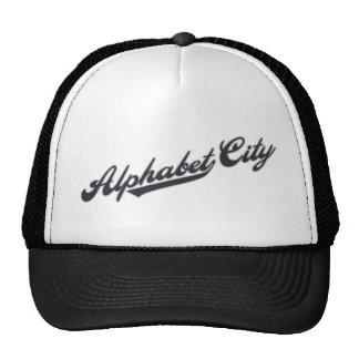 Alphabet City Mesh Hats