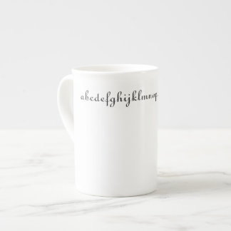 Alphabet Coffee Cup